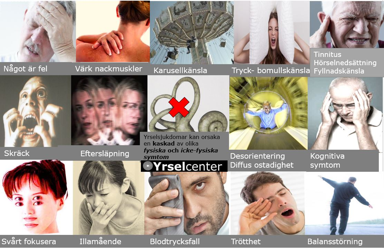 Yrsel - ett komplext symtom