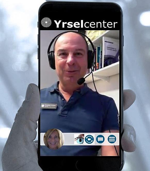 Videokonsultation Yrselcenter