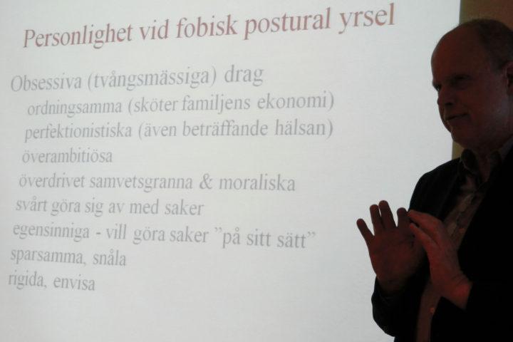 Anders Lundin föreläser om funktionell yrsel